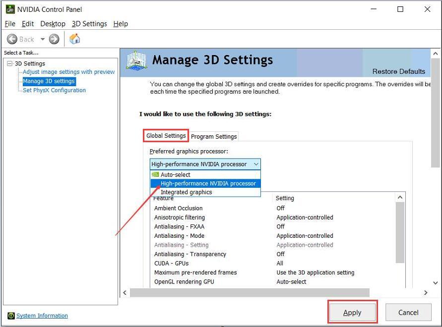 Como mudar de gráficos integrados para gráficos discretos