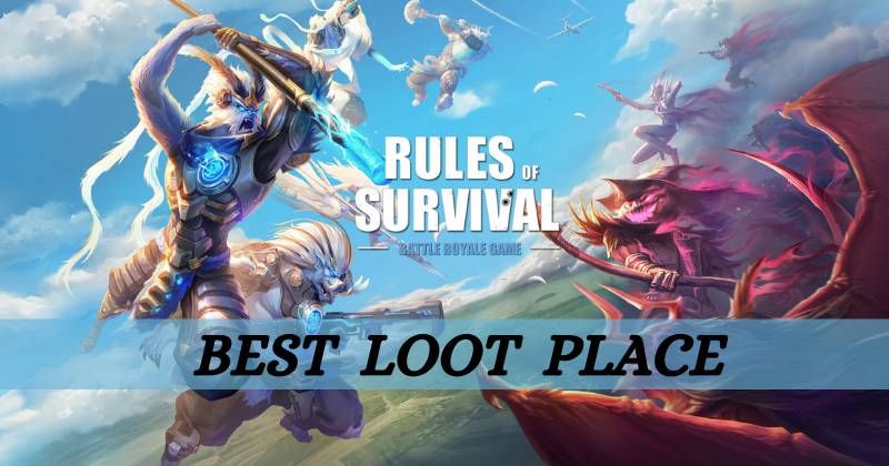 Rules of Survival How to Find the Best Loot Place?