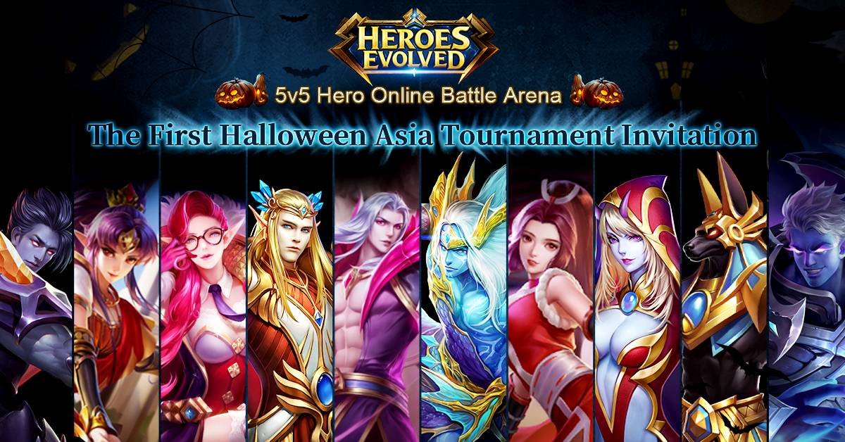 Heroes Evolved in Golden Time for Esports