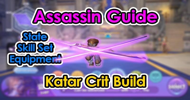 Ragnarok X Next Generation Thief Kata Crit Build