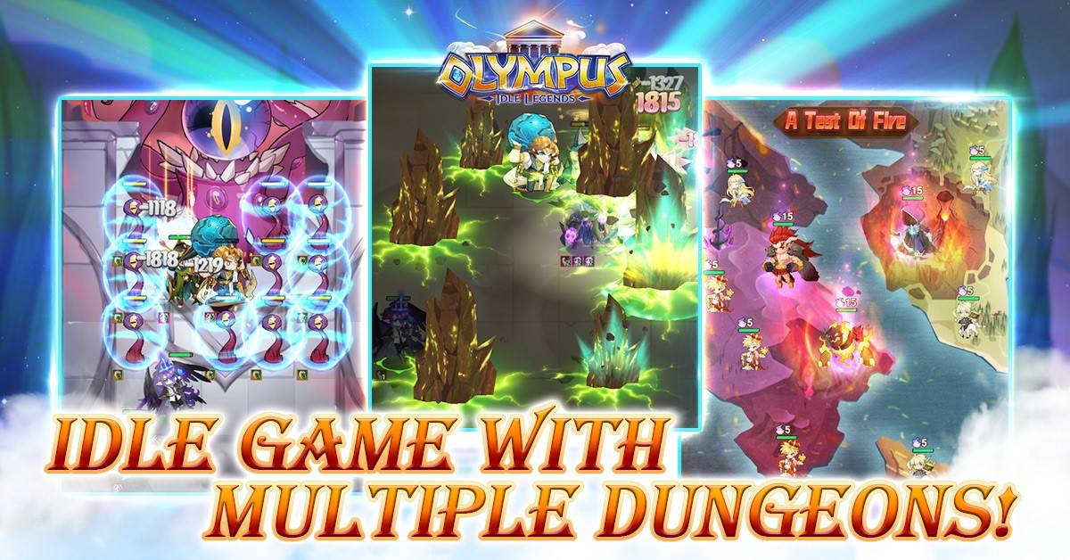Pre-Register For Olympus: Idle Legends – New idle game upcoming on August 25th!