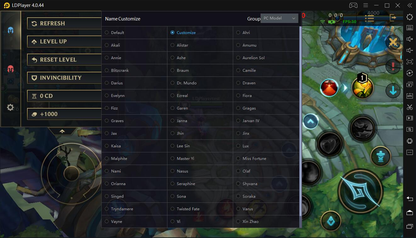 A detailed introduction to key mapping of League of Legends: Wild Rift