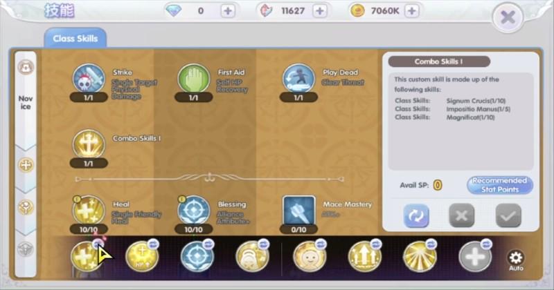 Ragnarok X Next Generation Combo Skills 3