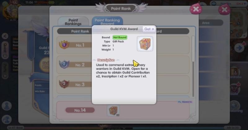 Ragnarok X Next Generation Blacksmith Guild Rewards