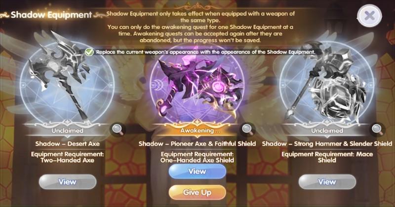Ragnarok X Next Generation Blacksmith Pioneer Ax  and Faithful Shield