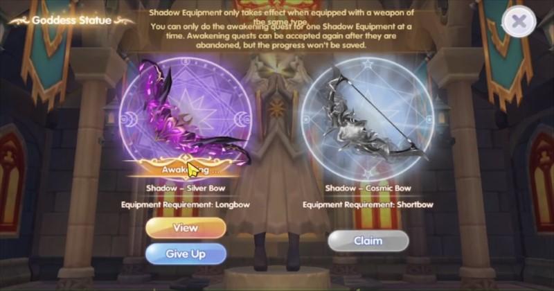 Ragnarok X Next Generation Blacksmith 2-H Shadow Equipment Select
