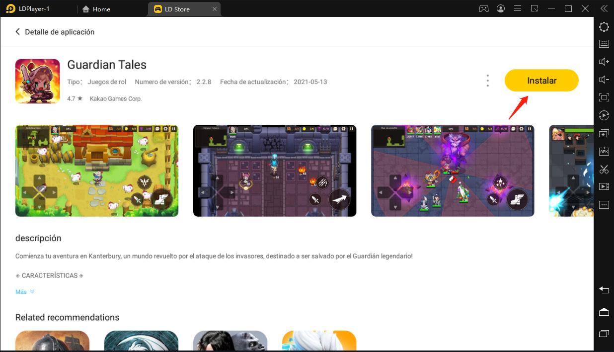 ¿Cómo descargar y jugar Guardian Tales en PC?
