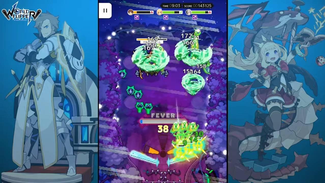 World Flipper Preview—Sebuah Game Pinball RPG yang Unik!