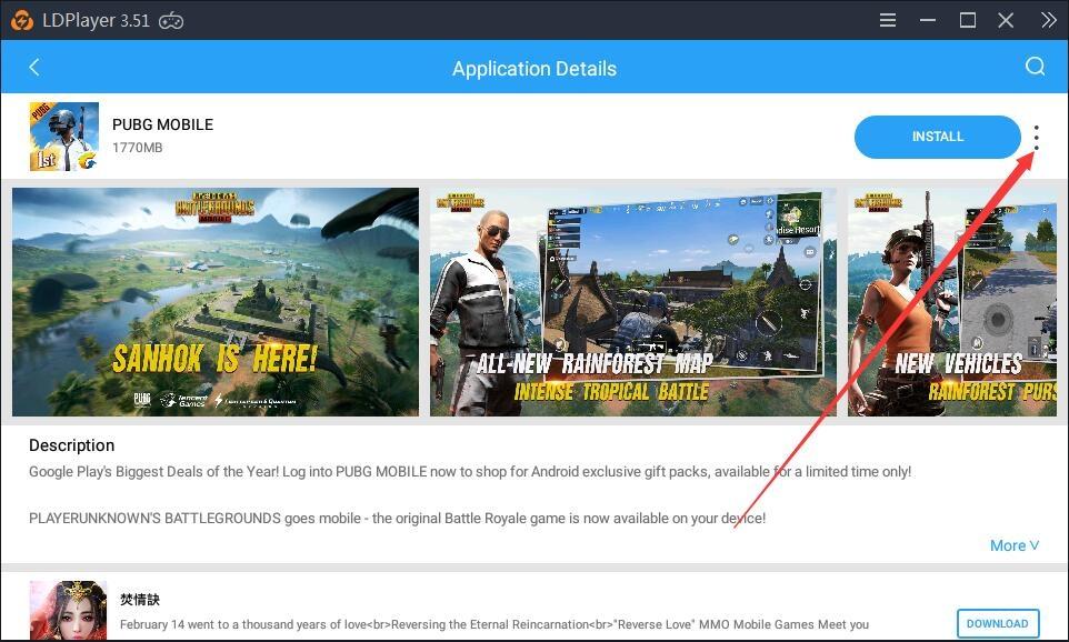 Uma solução para o seu dispositivo não é compatível com esta versão na Play Store no LDPlayer