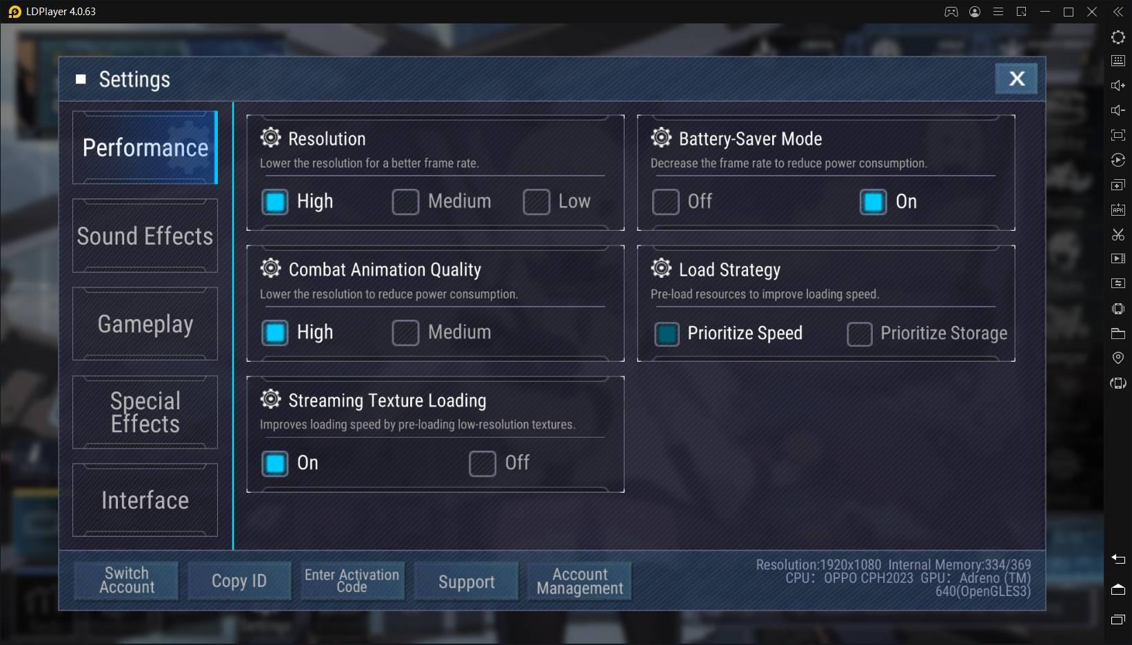 Como jogar Final Gear com 120 FPS no LDPlayer?
