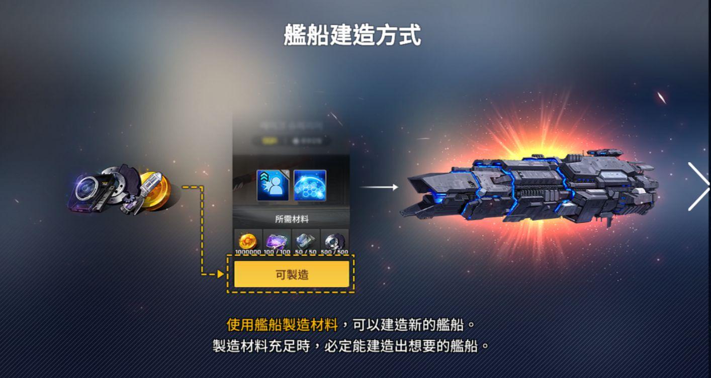 未來戰 艦船建造介紹