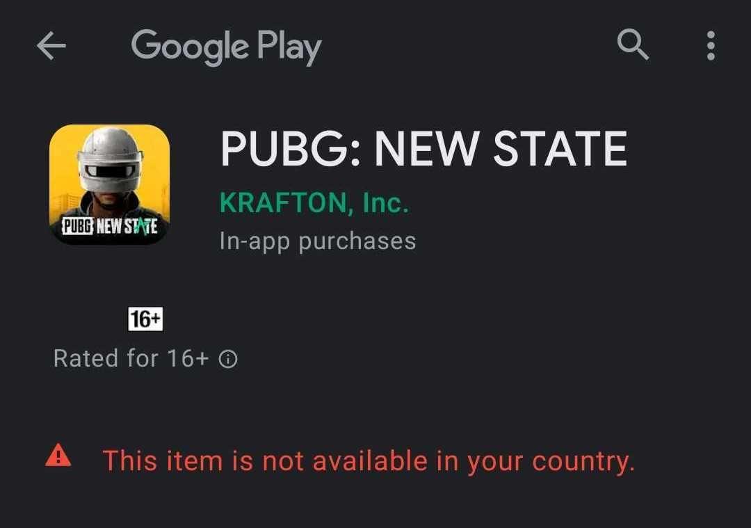 Đột phá! PUBG: NEW STATE được công bố, đăng ký trước hiện đang hoạt động