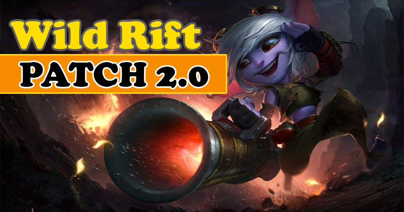 LOL Wild Rift NEW UPDATE Patch 2.0 Rundo...
