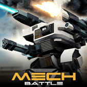 Mech Battle Robots War Game on pc